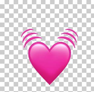 Heart IPhone 4 Emoji IOS 11 PNG