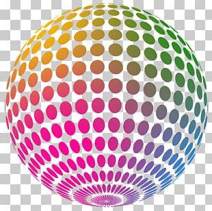 Nightclub Disco Ball Party PNG
