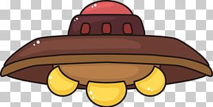Unidentified Flying Object Cartoon PNG