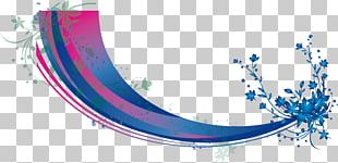 Blue Business Woman Electronics PNG