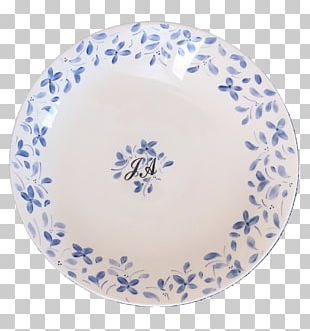 Plate Blue And White Pottery Ceramic Cobalt Blue Joseon White Porcelain PNG