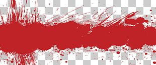 Red Grunge Banner PNG