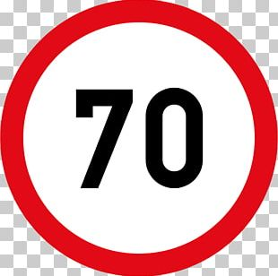Speed Sign Traffic Sign Speed Limit Number PNG