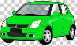 Car Door Suzuki Swift Bumper Compact Car PNG