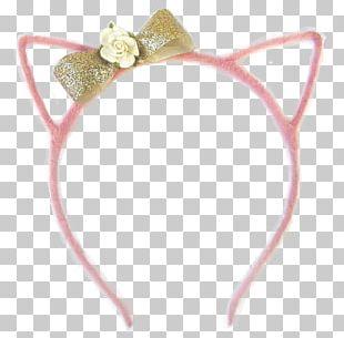 Headpiece Headband Hair Tie Jewellery Pink M PNG