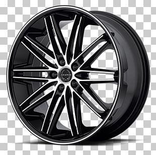 Asanti Black Wheels Car Rim Wheel Sizing PNG
