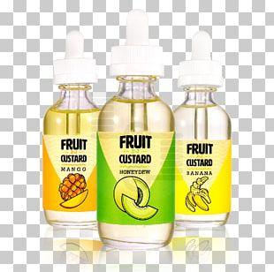 Custard Juice Electronic Cigarette Aerosol And Liquid Flavor PNG