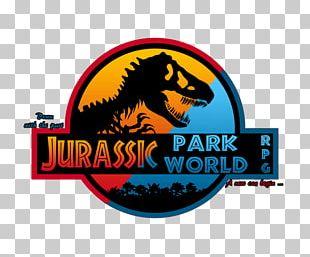 Logo Jurassic Park Dinosaur Brand Font PNG