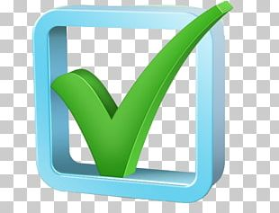 Check Mark Checkbox 3D Computer Graphics Icon PNG