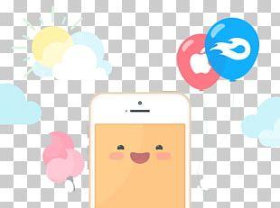 Mobile Phone Flat Design PNG