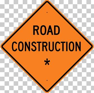 Roadworks Traffic Sign Construction Site Safety Architectural Engineering PNG