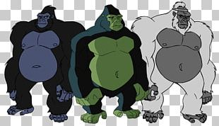 Gorilla Grodd Beast Boy The Flash PNG
