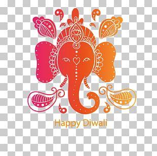 Diwali Elephant PNG