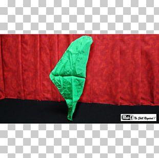Magic Color Card Manipulation Silk Green PNG