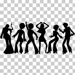 Dance Disco Music 1970s Drawing PNG