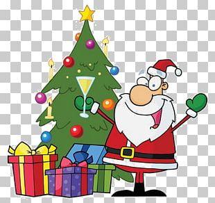 Santa Claus Christmas Festival PNG