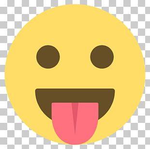 Emoji Emoticon Smiley Wink PNG