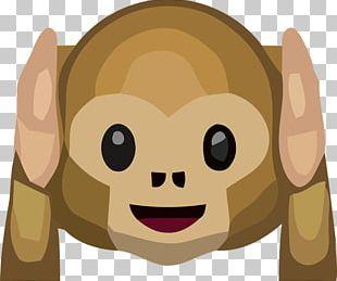 Three Wise Monkeys Emoji The Evil Monkey Monkey See PNG