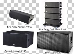 D.A.S Audio Event 208A Line Array Loudspeaker Public Address Systems PNG