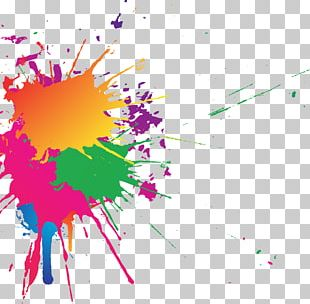 Color Desktop Splash PNG