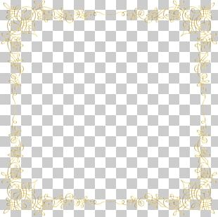 Golden Border Transparent PNG