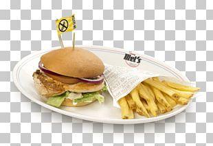 Breakfast Sandwich Cheeseburger Hamburger Fast Food Veggie Burger PNG