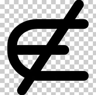 Element Mathematics Symbol Mathematical Notation Sign PNG