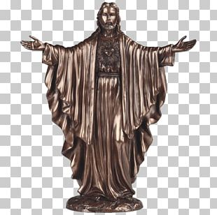 Statue Christ The Redeemer Figurine Christ Of Vũng Tàu Bronze Sculpture PNG