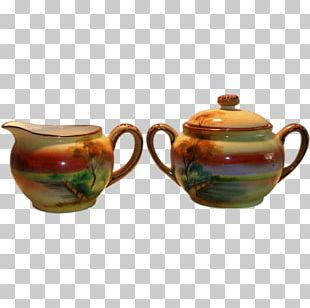 Coffee Cup Ceramic Pottery Mug Teapot PNG