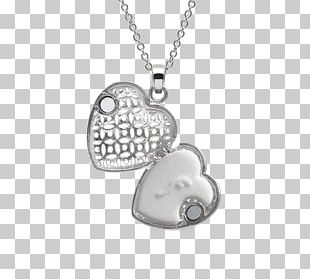 Locket Necklace Chain Silver Jewellery PNG