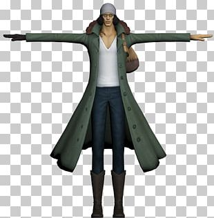One Piece: Pirate Warriors Kuzan 3D Modeling 3D Computer Graphics PNG