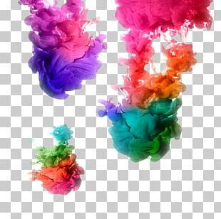 Acrylic Paint Ink Water Color Stock Photography PNG