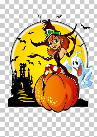 The Halloween Tree Witch PNG