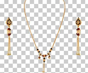 Necklace ORRA Jewellery Earring Gold PNG