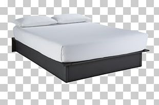 Bed Frame Box-spring Mattress Platform Bed PNG