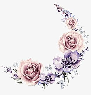 Flowers Flowers Background Material PNG