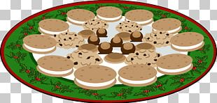 Chocolate Chip Cookie Black And White Cookie Christmas Cookie PNG