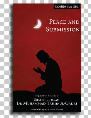 Peace & Submission Islam Book Poster PNG