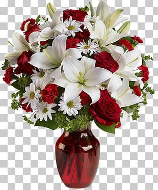 Valentine's Day Floristry Flower Bouquet Rose PNG