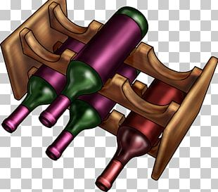 Red Wine Champagne Bottle PNG