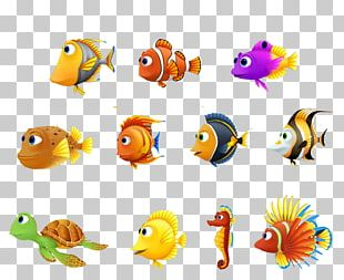 Turtle Fish Finding Nemo Seahorse PNG