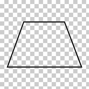 Trapezoid Geometric Shape Geometry Quadrilateral PNG