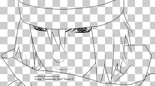 Line Art Sasuke Uchiha Drawing Cartoon Stock Photography PNG