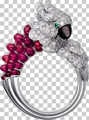 Ruby Ring Jewellery Colored Gold Nacre PNG