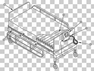 Hospital Bed Mattress Drawing PNG
