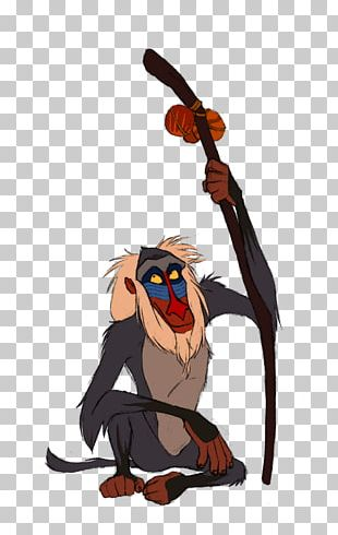 Walt Disney World Rafiki Simba Mufasa The Lion King PNG