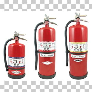 Fire Extinguishers ABC Dry Chemical Amerex Purple-K PNG