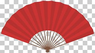 Hand Fan Paper Auringonvarjo Red Stock Photography PNG