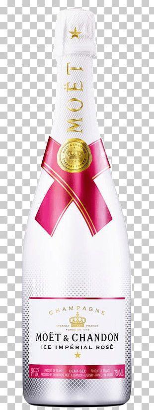 Moët & Chandon Champagne Rosé Sparkling Wine PNG