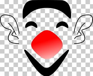 Clown Laughter Face PNG